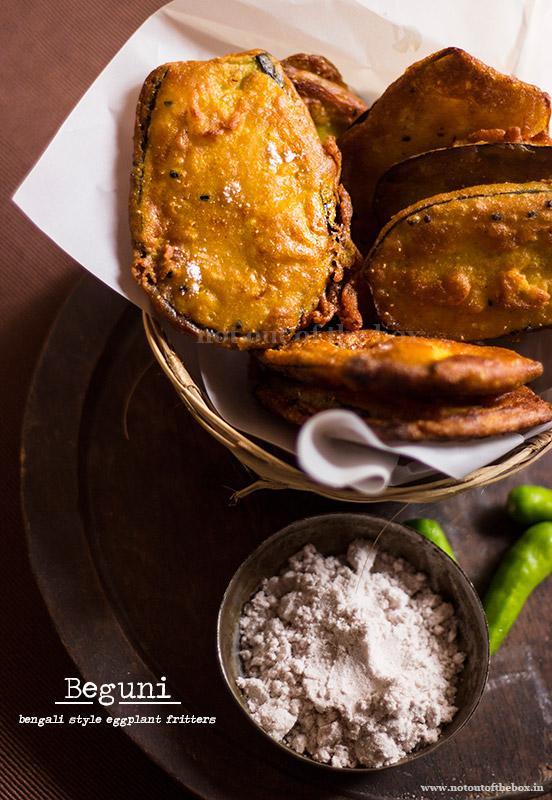 Beguni/Eggplant Fritters