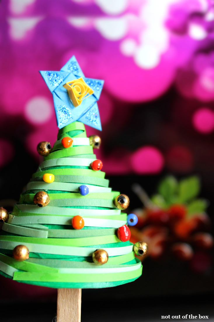 Handmade Christmas Tree with Full Tutorial