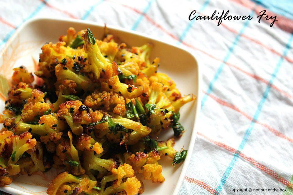 Cauliflower Fry/Phulkopi Bhaja