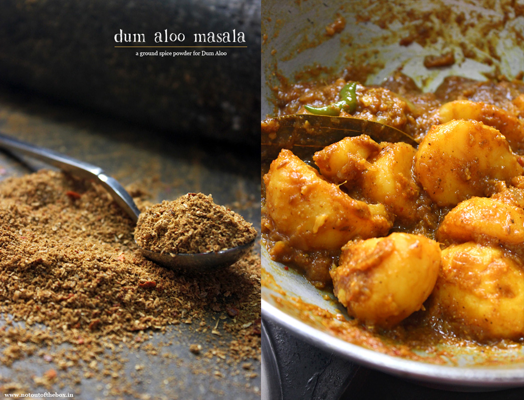 Dum Aloo Masala and Kosha Aloo r Dom (Hot & Spicy Dum Aloo )