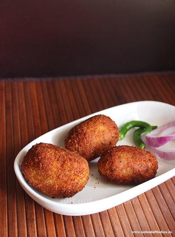 Bengali Macher Chop/Fish Croquettes