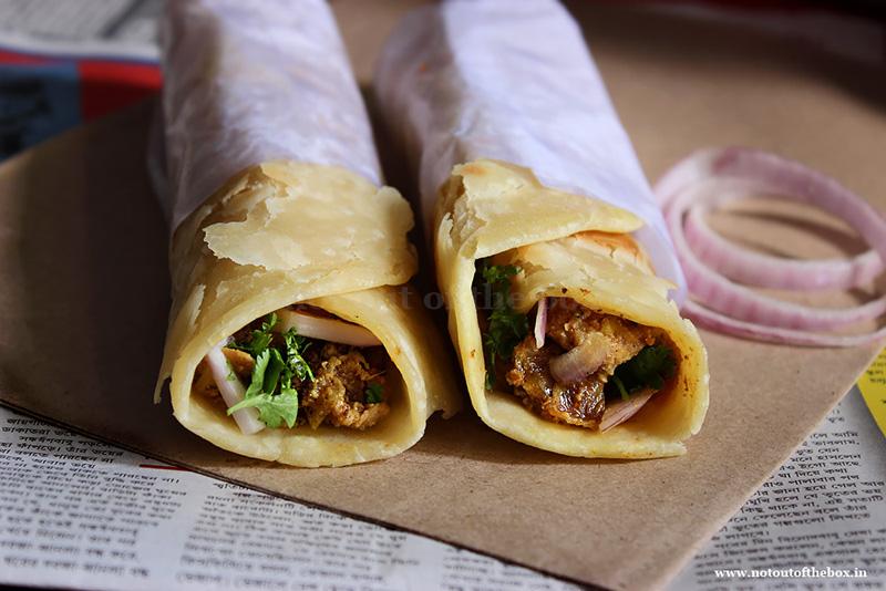 Chicken Roll (Kolkata Street Style)