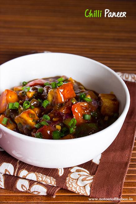 Chilli Paneer (Restaurant style)