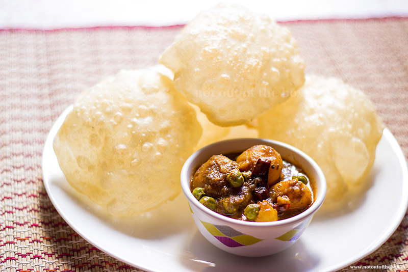 Luchi- how to make perfect Luchi
