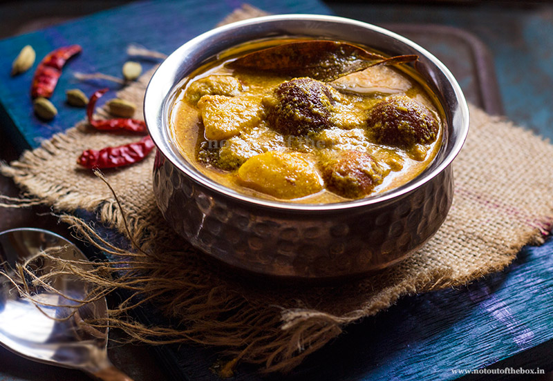 Chanar Dalna/Bengali style Cottage Cheese Kofta Curry | Not