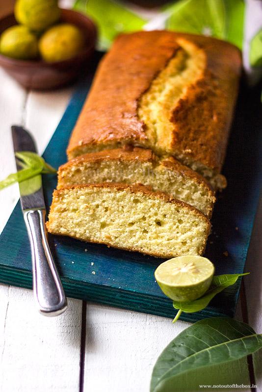 Mosambi-Lemon Cake