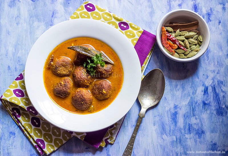 Mawa Paneer Kofta Curry