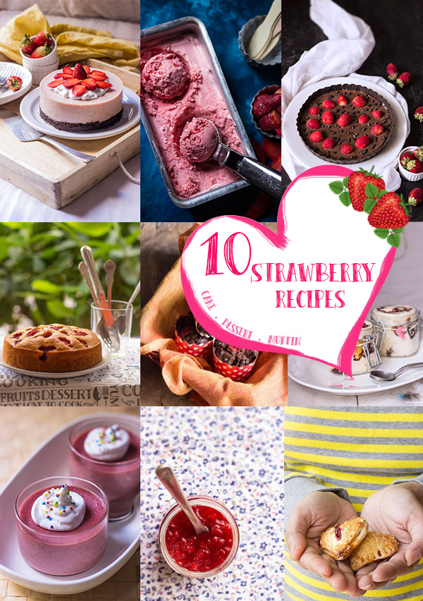 10 Strawberry Recipes for Valentine's Day