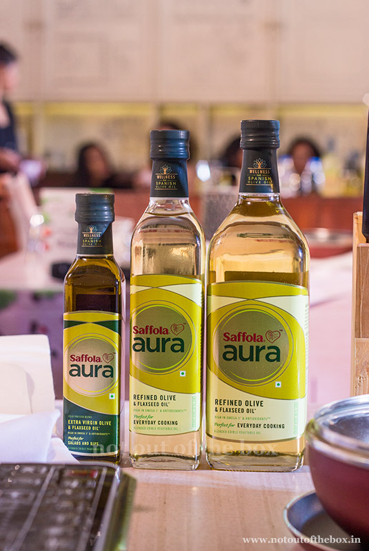 The Launch of Saffola Aura Oil