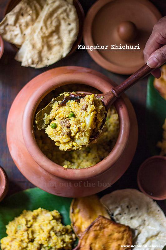 Mangshor Khichuri/Mutton Khichdi