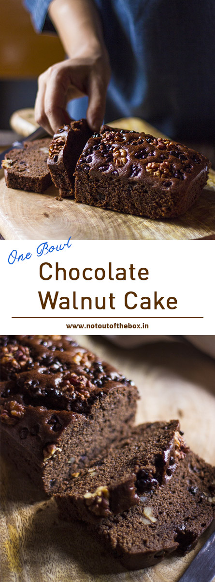 Chocolate Walnut Cake Not Out Of The Box