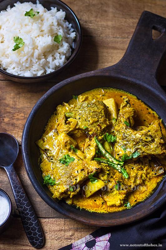 Sorshe Tilapia/Mustard Tilapia Curry