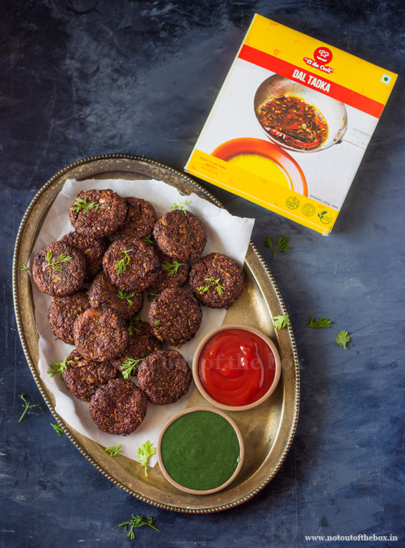 Cabbage Kebabs with El the Cook's Dal Tadka