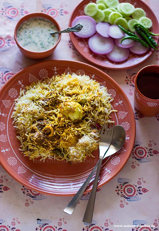 Mutton Dum Biryani- Kolkata style